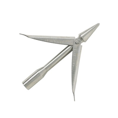 Наконечник Salvimar Concorde, нержавейка, 2 флажка