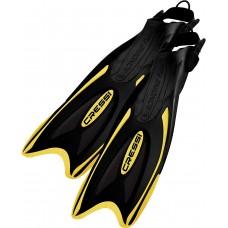 Ласты для плавания Cressi Sub Palau, черно-желтые