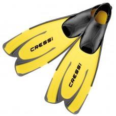 Ласты для плавания Cressi Sub Agua, желтые