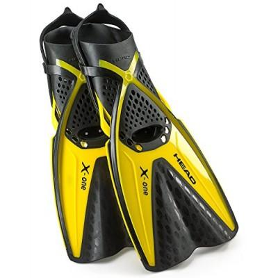 Ласты для плавания Mares X-One, желтые