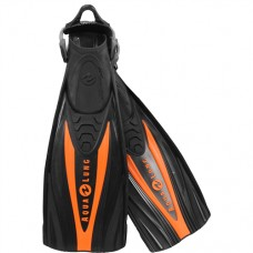 Ласты для дайвинга  Aqua Lung Express ,  черно-оранжевые