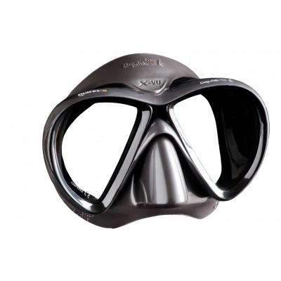 Маска для подводной охоты Mares X-VU Liquidskin, черная