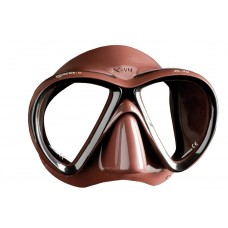 Маска для подводной охоты Mares X-VU Liquidskin, коричневая