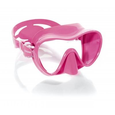 Маска для плавания Cressi Sub F1, розовая