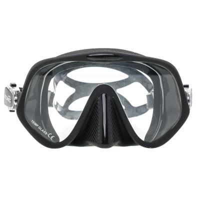 Маска для подводной охоты Marlin Atomic, черная