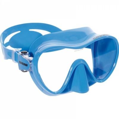 Маска для плавания Cressi Sub F1 Small,  синяя, детская