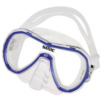Маска для плавания Seac Sub Giglio, прозрачно-синяя