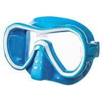 Маска для плавания Seac Sub Giglio, бело-голубая
