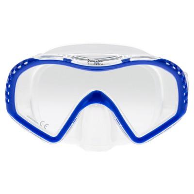 Маска для плавания Marlin Look Junior, синяя