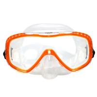 Маска для плавания Marlin Look, оранжевая