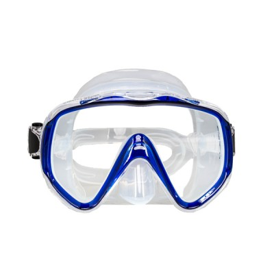 Маска для плавания Marlin Visualator, синяя