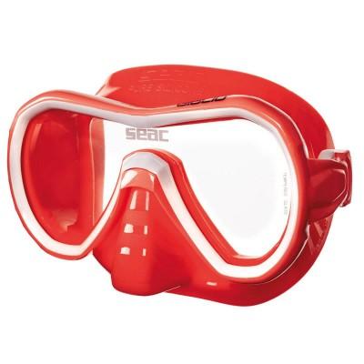 Маска для плавания Seac Sub Giglio, бело-красная