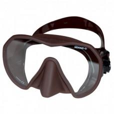 Маска для подводной охотой Beuchat Maxlux, коричневая