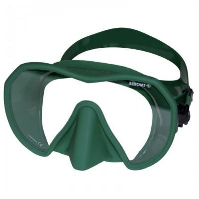 Маска для подводной охоты Beuchat Maxlux , зеленая