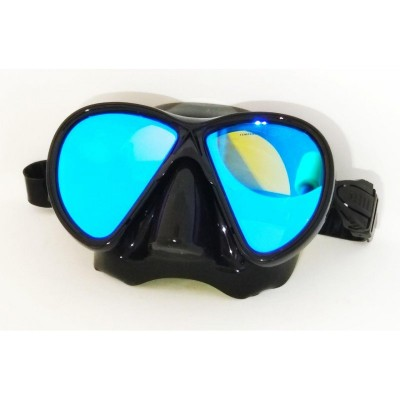 Маска для подводной охоты BS Diver Mirola, просветленная, черная