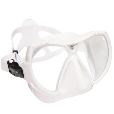 Маска для плавания Aqua Lung Mission MD, детская, белая