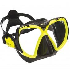 Маска для плавания Aqua Lung Mission, желтая