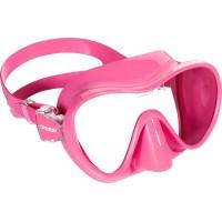 Маска для дайвинга Cressi Sub F1, розовая