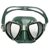 Маска для подводной охоты Salvimar Maxale, зеленая
