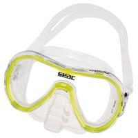 Маска для плавания Seac Sub Giglio, прозрачно-желтая