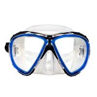 Маска для плавания Marlin Twist , синяя