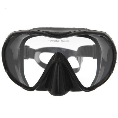 Маска для плавания Marlin Frameless UNO, черная