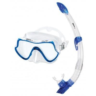 Взрослый набор для плавания Mares Pure Vision, синий