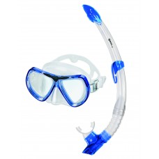 Взрослый набор для плавания Mares Kona, синий