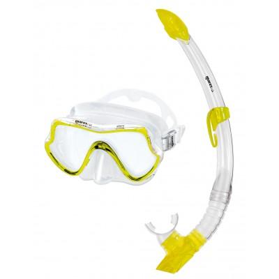 Детский набор для плавания Mares Seahorse, желтый