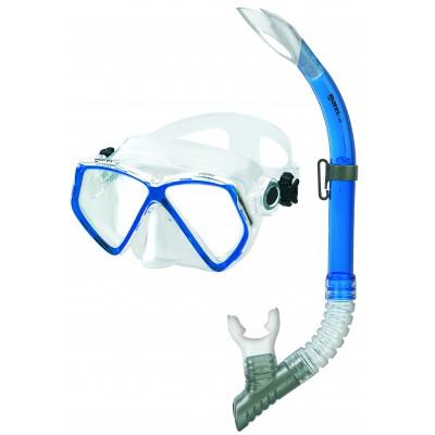 Взрослый набор для плавания Mares Zephir , синий