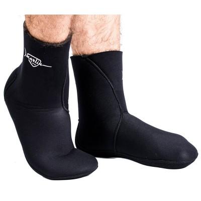 Носки для подводной охоты Marlin Anatomic Duratex  7мм, черный