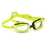 Очки для плавания Aqua Sphere Xceed, салатовые