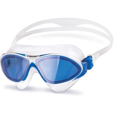 Купить Очки для плавания Head Horizon, бело-синий