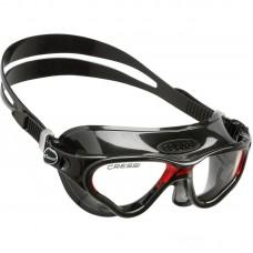 Очки для плавания Cressi Sub Cobra, черно-красные
