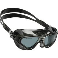Очки для плавания Cressi Sub Cobra, черные, тонированные