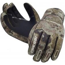 Перчатки для подводной охоты Cressi Sub Ultraspan Camou 2,5мм