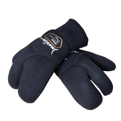 Трехпалые перчатки для подводной охоты Marlin Winter 7мм, черный
