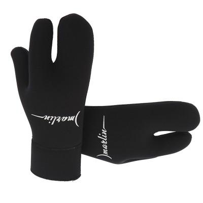 Перчатки для подводной охоты Marlin Open Cell 7мм, черные