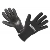 Перчатки неопреновые Seac Sub Stretch 5мм, черные