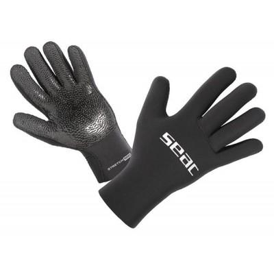 Перчатки для дайвинга Seac Sub Stretch 5мм, черные