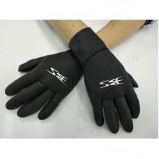 Перчатки для подводной охоты BS Diver Super Fit 3мм, черный
