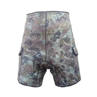 Шорты поддевка Marlin Camo Green 3мм