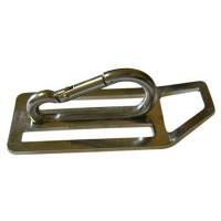 D-кольцо Pelengas с карабином , металл