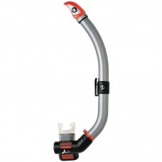 Трубка для плавания Aqua Lung  Air Dry, серебро