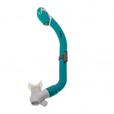 Трубка для плавания Marlin Joy, бело-зеленая, детская